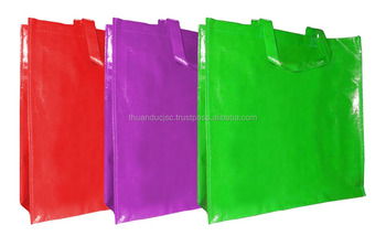 Fashion ECO shopping bags made by PP woven/non woven..