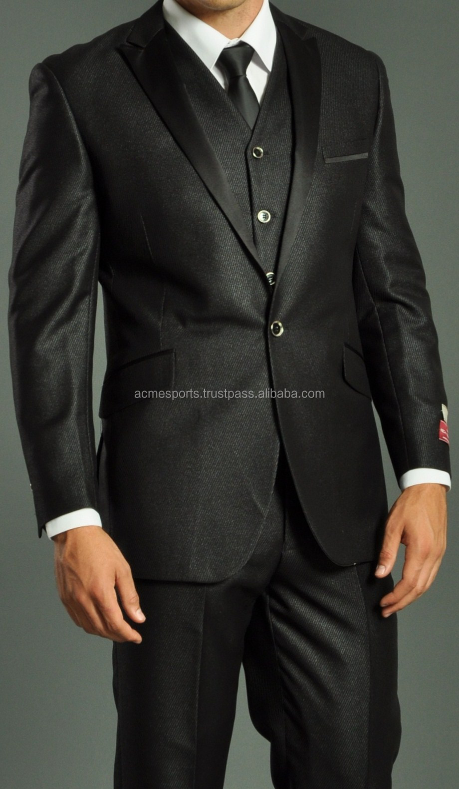 Mens Business Suits - Custom Made Tuxedo Mens Suits - Mens Wedding ...