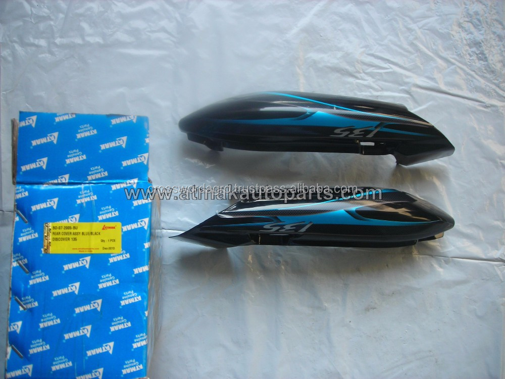 SEAT COWL ASSEMBLY FOR BAJAJ DISCOVER 135 BLUE IN MEXICO