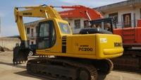 Used Komatsu PC200-6 Excavator, Used Komatsu Excavator PC200-6 PC220-6 heavy duty machines