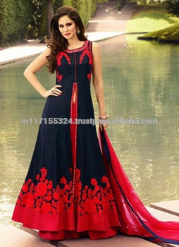 3527c7b933 anarkali suits low price online shopping - Anarkali floor length - Black designer  anarkali suits