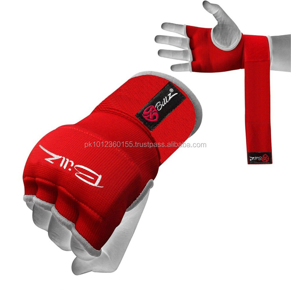 HOT 2017 RED QUALITY EVA GEL WRAPS HAND PADDED INNER GLOVES