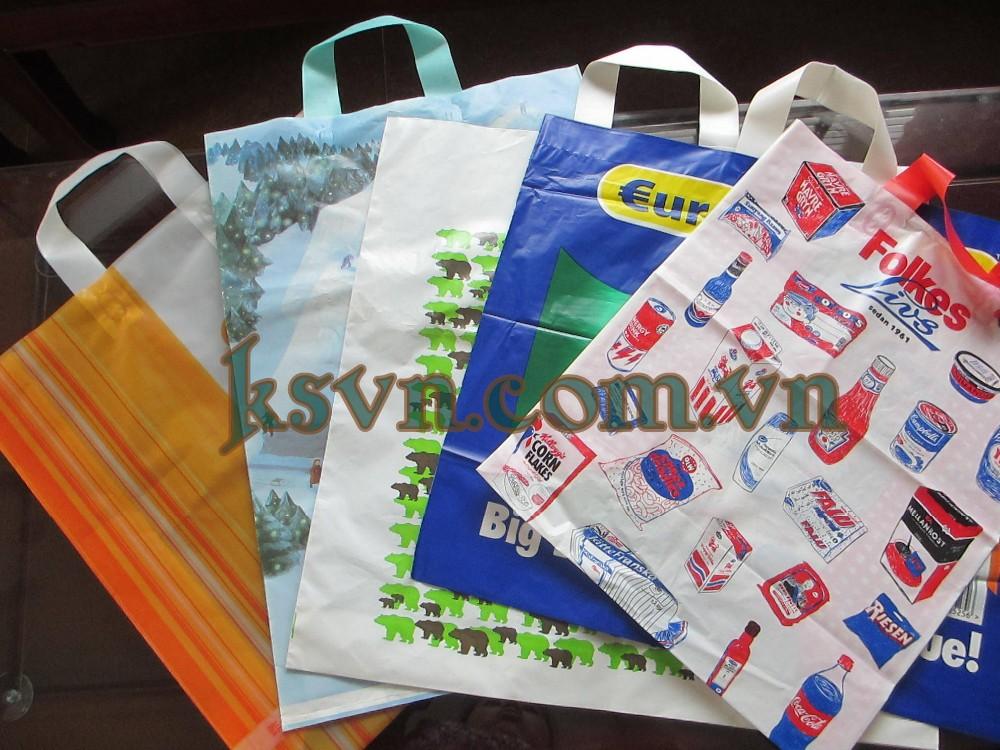 HDPE פוליאתילן t חולצה פלסטיק שקיות עבור שוק ארוחת הערב