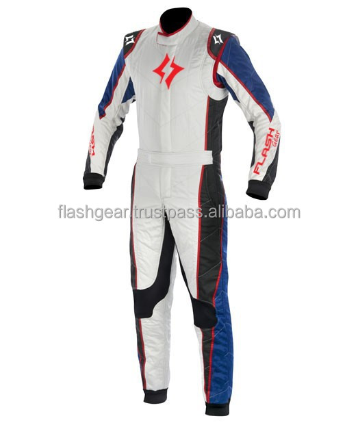 Flash Gear Kart Race Suit (Customized) Racing Suit, SFI Nomex Professional Karting Ride