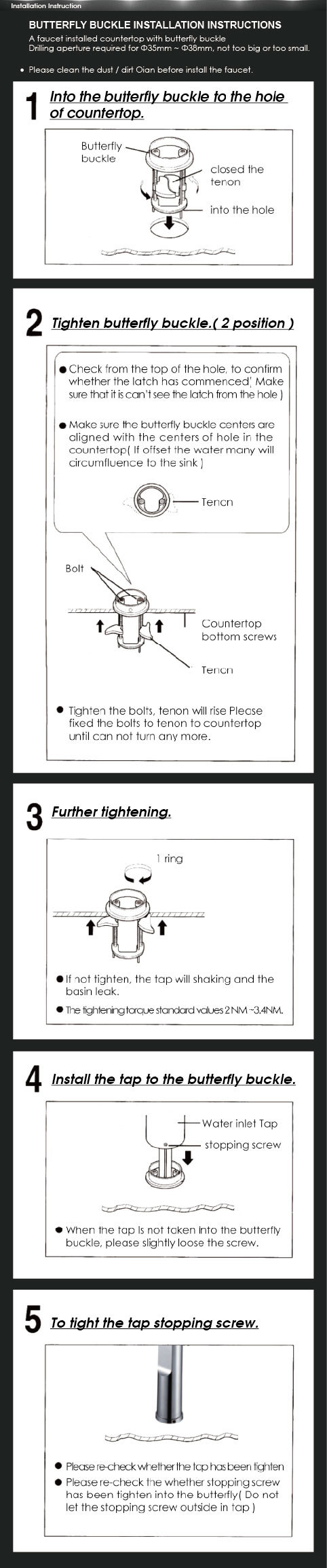Taiwan Buder ] Patented 2-way Child Lock Drinking Water Faucet ...