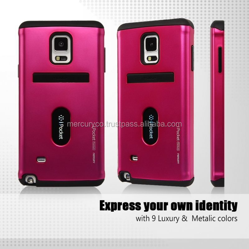 Mercury iPocket Premium Bumper phone case (Hot pink)