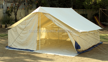 Double fly  Single fold Tent  Family tent  C&ing canvas tent  White canvas & Double FlySingle Fold TentFamily TentCamping Canvas TentWhite ...