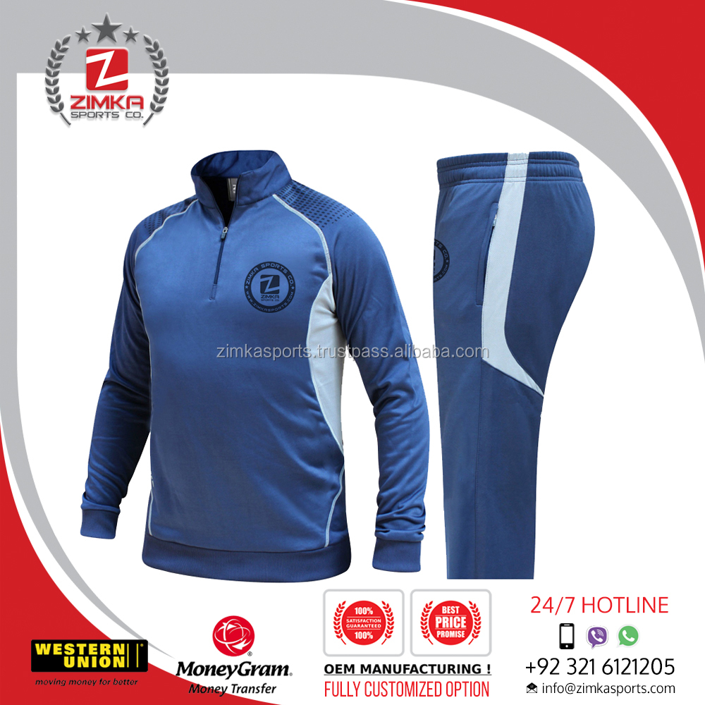 Men's sports & casual hot selling sublimation track suit/sports wear