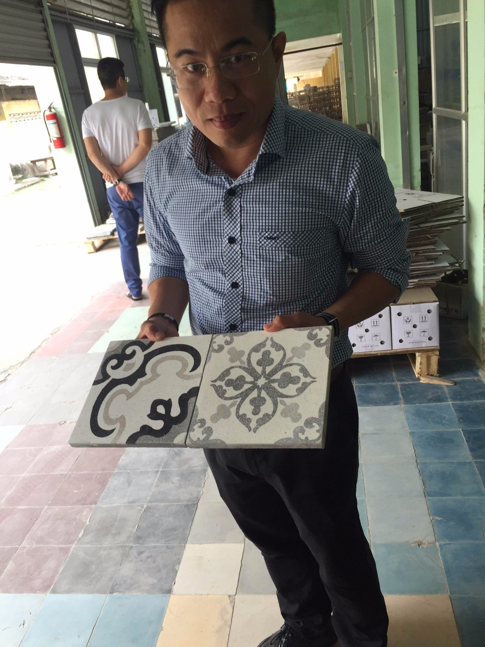From Vietnam Encaustic Handmade Cement Tiles