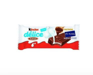 KINDER 42g Delice Cocoa Chocolate Bar