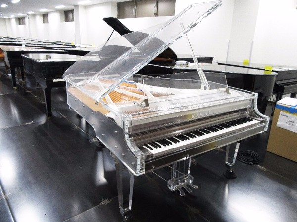 Used Kawai Crystal Grand Piano Cr 40a With Self Playing