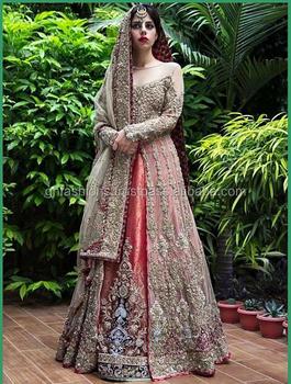 078d61bf23 Pakistani Bridal Wedding Zardosi work Lehenga suit, View Pakistani ...