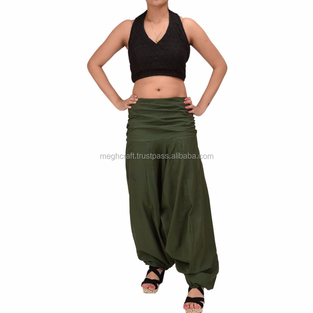 Harem Trousers Swirl Alibaba Boho Gypsy Cotton Summer wear Dance Beach