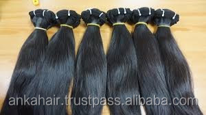 Trade insurance reliable factory supplier double drawn human natural hair extension