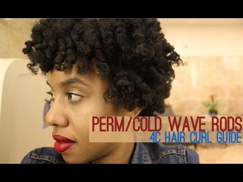 Get Quotations Perm Cold Wave Rods Diffe Sizes Technique 4c Natural Hair Curl Guide