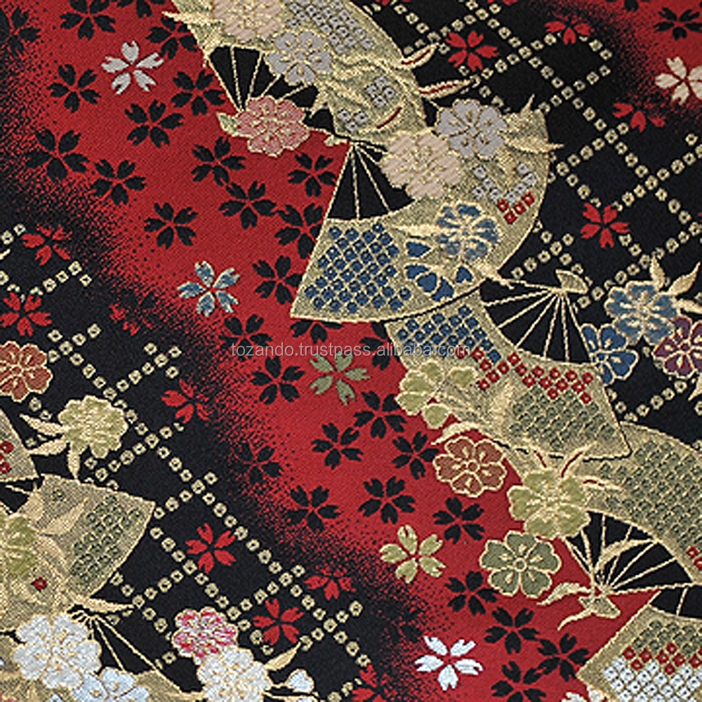 Genuine And Classic Kimono Tetile For Handicrafts, Brocade Silk Fabric Also Available, Made in Japan
