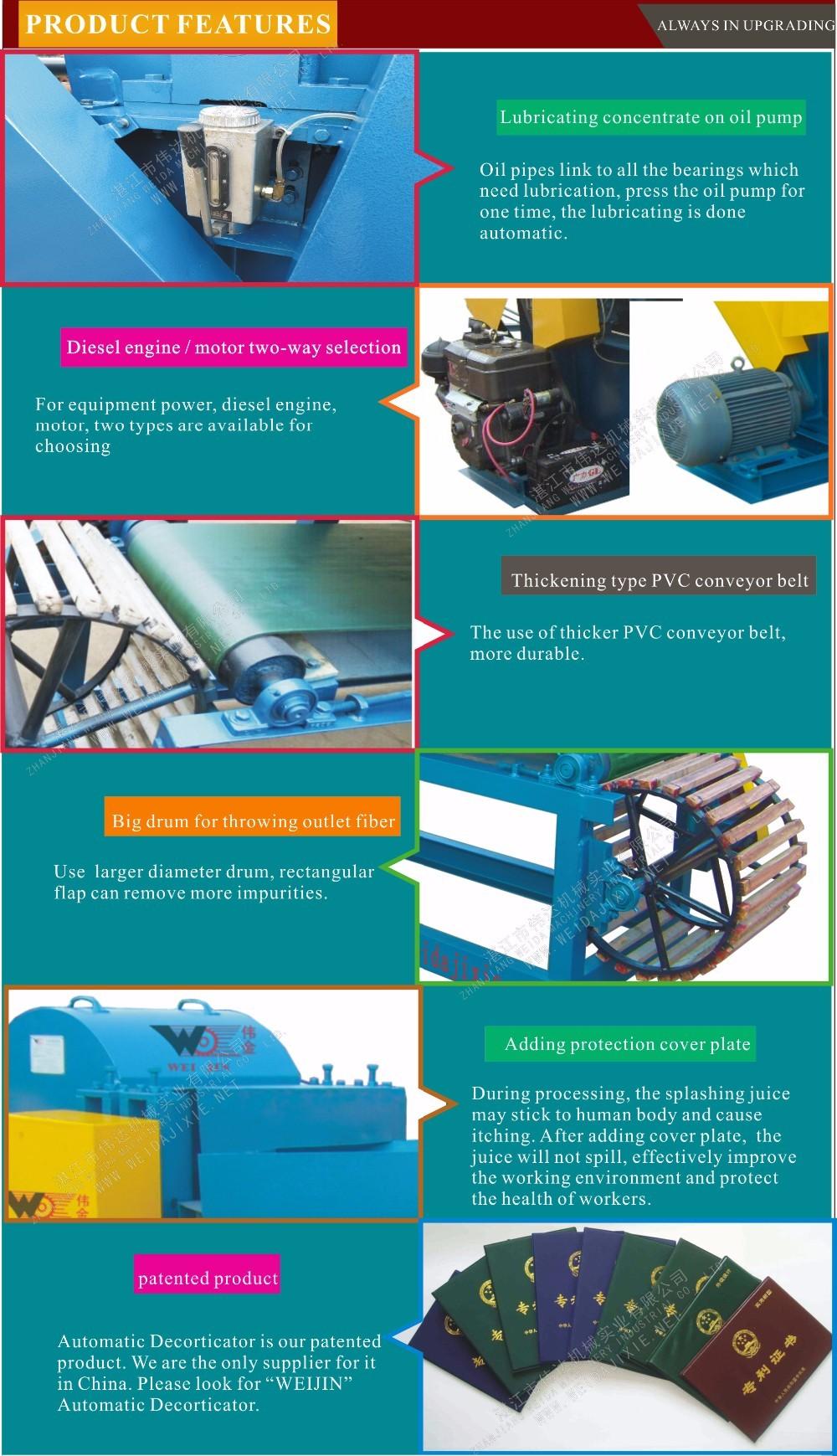 Industrial Hemp Fiber Extraction Machine/sisal Hemp Decorticator ...