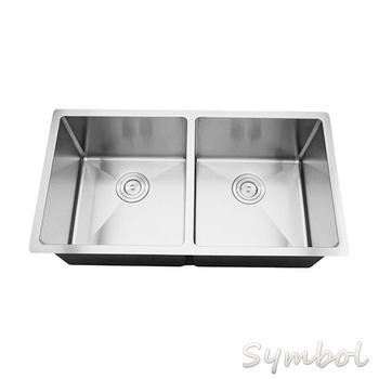 Undermount Big Size Double Bowl American Stainless Steel Kitchen ...