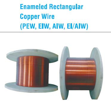 Enameled Rectangular Copper Wire/ High Quality Korean Product ...