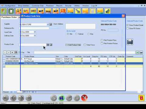 SUP0006U: Creation of Purchase Order PO) to Suppliers Urdu)