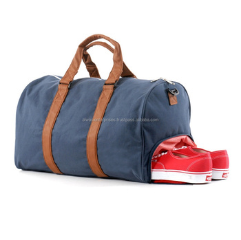 Custom Sports Bag With Shoe Compartment Gym Travel