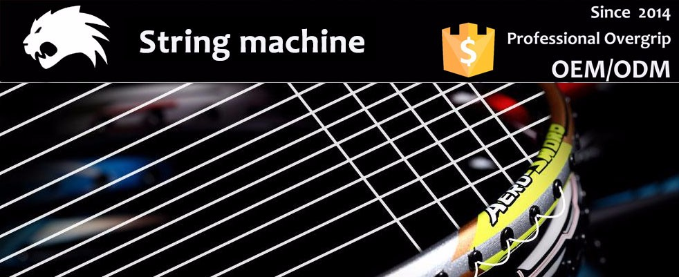 Taiwan advanced tennis and badminton racket vertical stringing machine