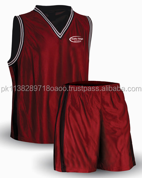 Sublimierte reversible Basketballuniformen