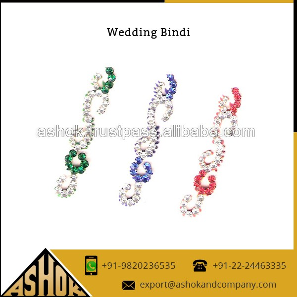 Traditional Wedding Bindi Sticker Special Gift Packing Indian