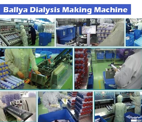 Dialysis Filter Dialyzers Membrane Assembly System Equipment ...