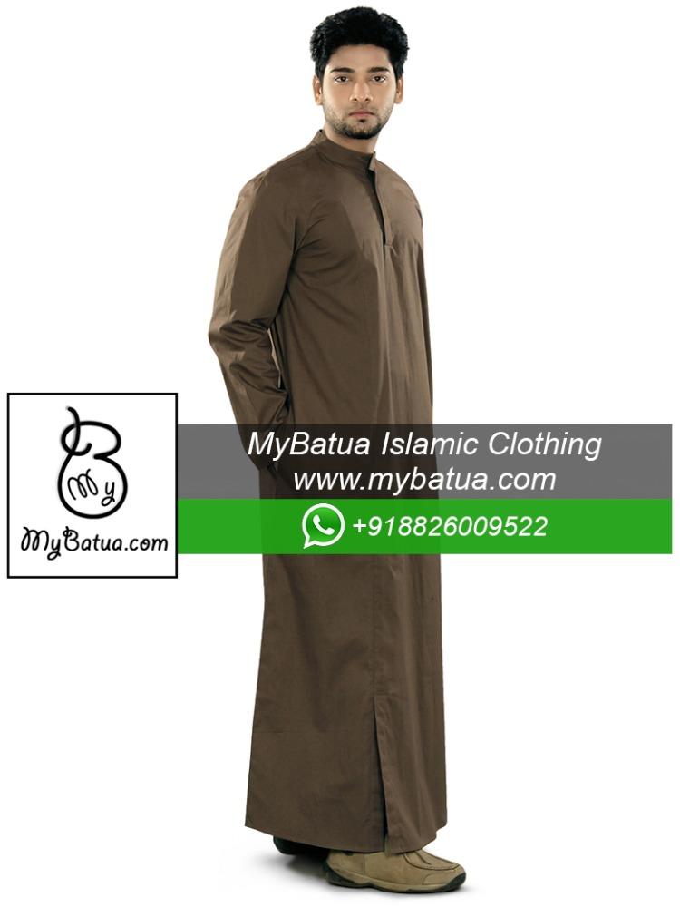 Wholesale,Muslim Dishdash Kurta,Men Wear Jubba,Thobe,Daffah,Thawb ...