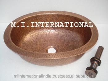 Copper Wash Basin, Copper Sink