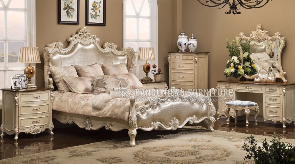 Neoclassic Luxury White Bedroom Set - Buy Bedroom Furniture Sets,Classic  Bedroom Sets,French Provincial Bedroom Set Product on Alibaba.com