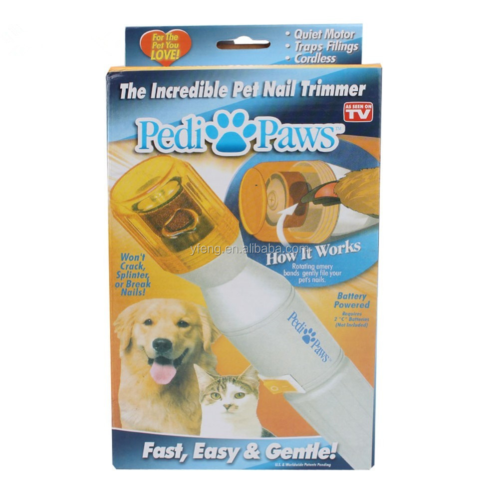 Electric Pet Pedicure Nail Trimmer Pet Nail Tools Grinding Dog