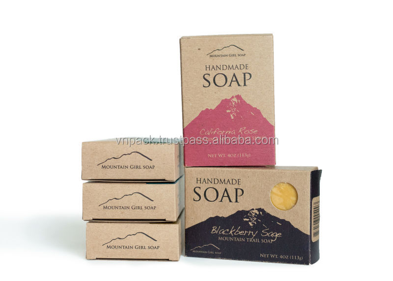 Cosmetics For Kraft Paper Box