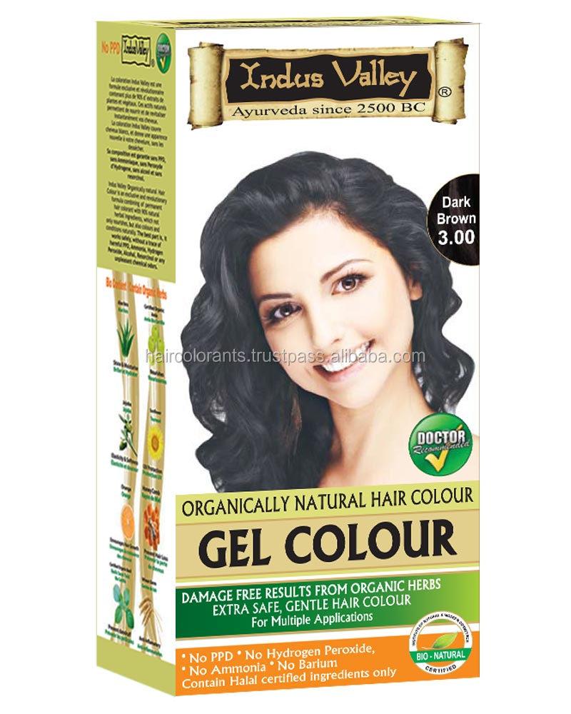 Natural Herbal Cream Hair Color No Ppd No Ammonia No Hydrogen