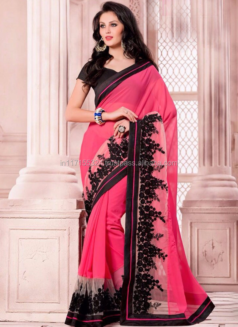 47db423357ce3 New border design saree - Peacock saree - Saree manufacturer - Fancy saree  blouse designs -