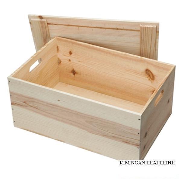cajas de madera para frutas verduras hace de la plaza de borde liso lado marrn