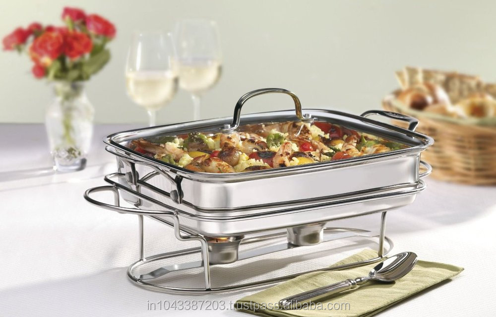 New Chafing Dish Stylish To Style Dinner Table Wedding Master Piece