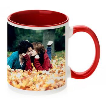 china cheap inside color coffee mug for sublimation printing 11oz