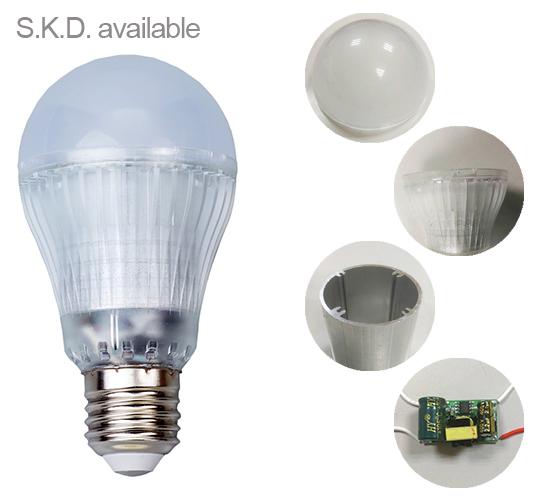 10w E27 Led Bulb Skd Assemble Available Rohs Led Light Lighting ...