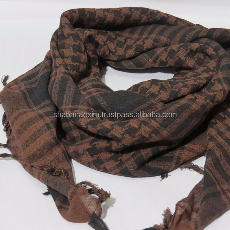 Shemagh Cotton Embroidered scarfs square scarves