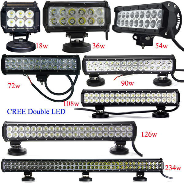 Dual row 108w automotive led light barled car roof rack light bar dual row 108w automotive led light bar led car roof rack light bar 4x4 mozeypictures Image collections