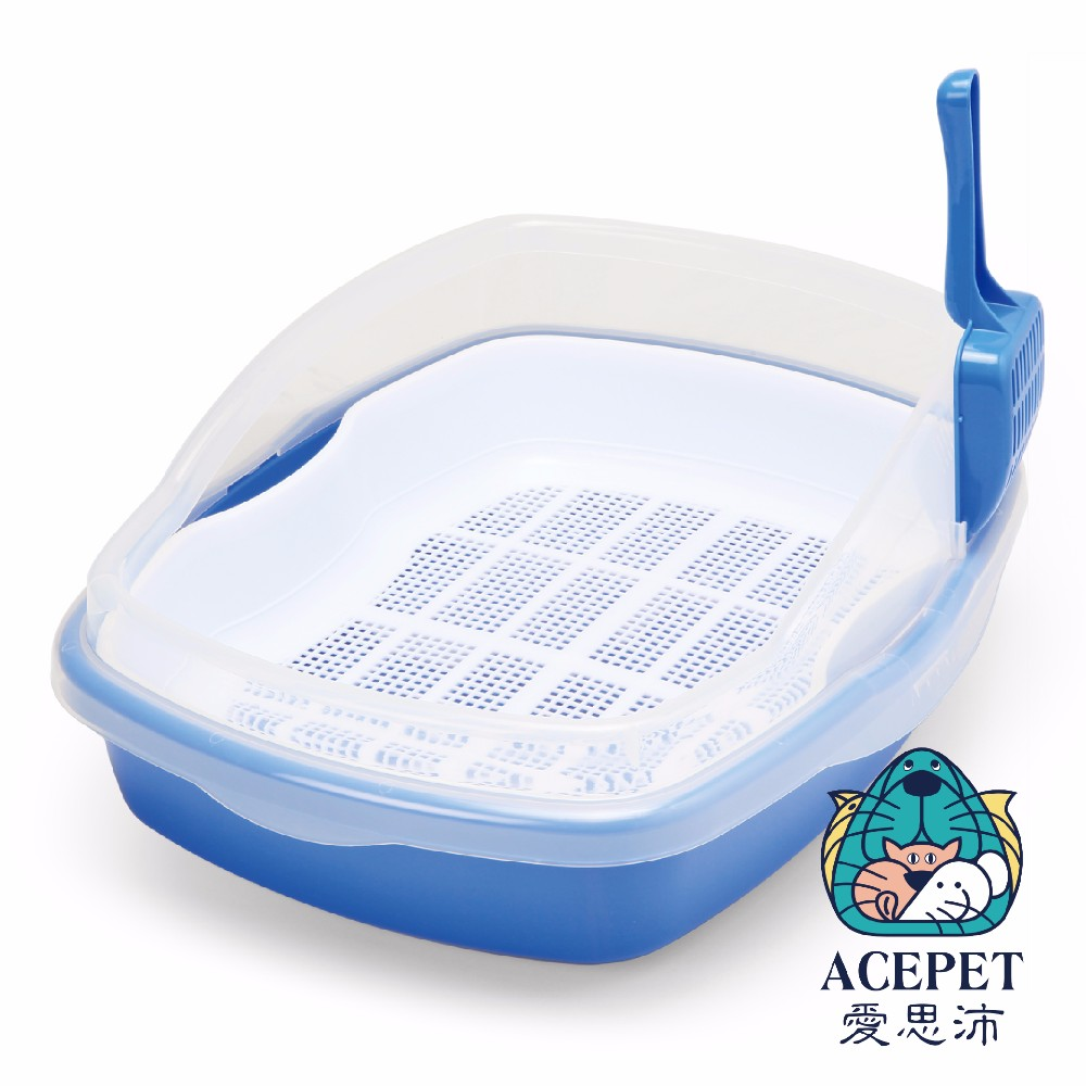 Cat Clean Up Products new premium plastic indoor double layer pet litter box,cat litter pan