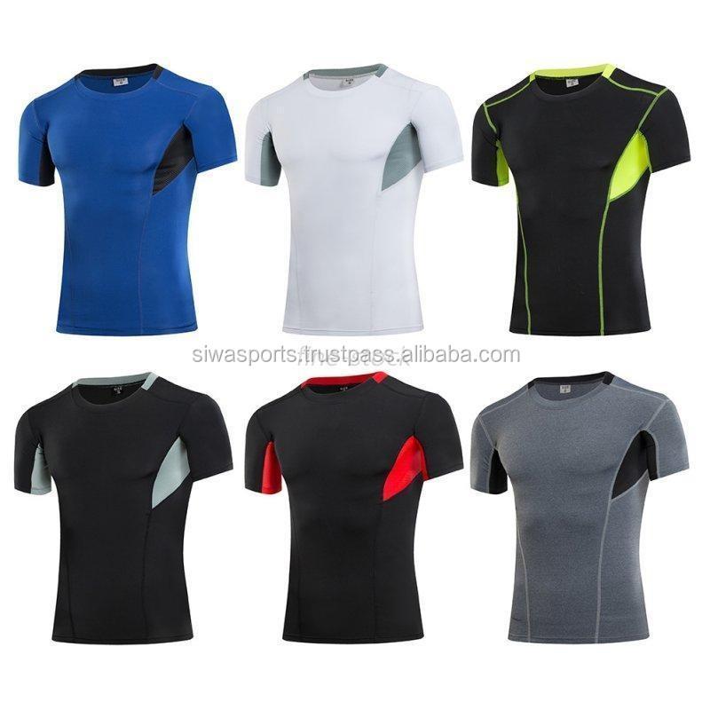 New Style Half White Sport T Shirt 3d Design For Men Fashion ...