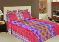 2015 Luxury Indian Bedroom Bedding Beautiful Fine Home Textiles Bed Sheet 200/300/500 THREAD COUNT