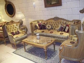 Rot Und Gold Sofa/couch Suite Salon Eingerichtet Wohnzimmer Möbel ...