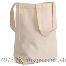 100% cotton canvas tote bags