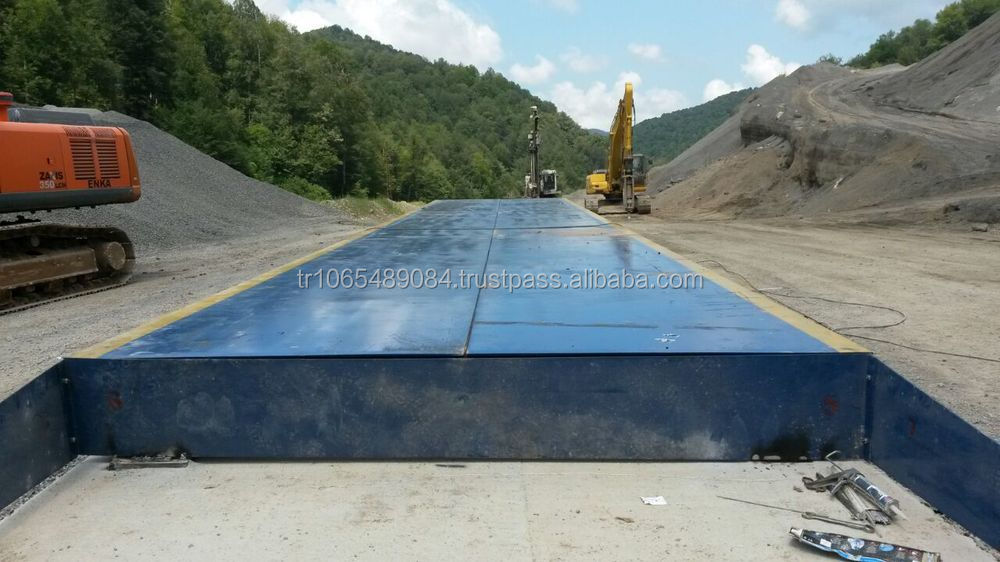 ERGUNLAR INC. 4 X 18 MT 40 TONS Electronic/Digital Truck Scale/Weighbridge