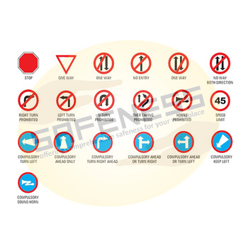 Mandatory Road Signs Sql-sgn-rss-mrs-001 Safeness Quotient Limited ...