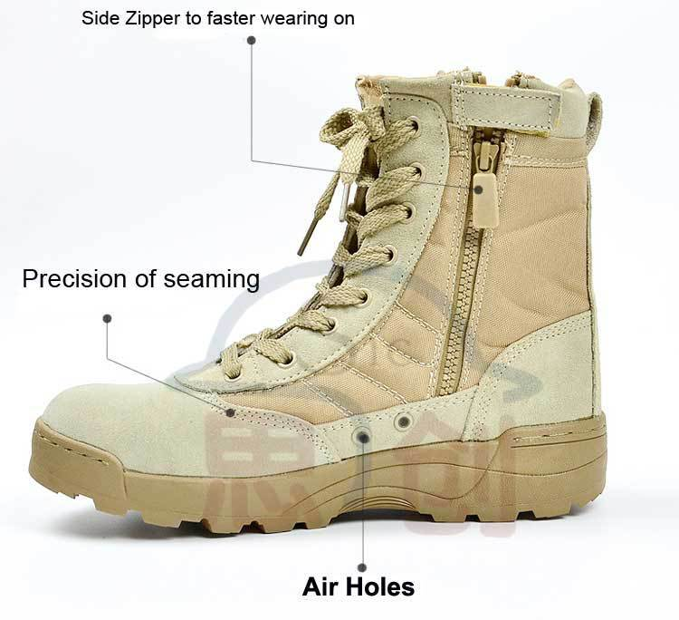 New Style Storing Weapon Combat Boots With Eva+rubber With Cheap ...